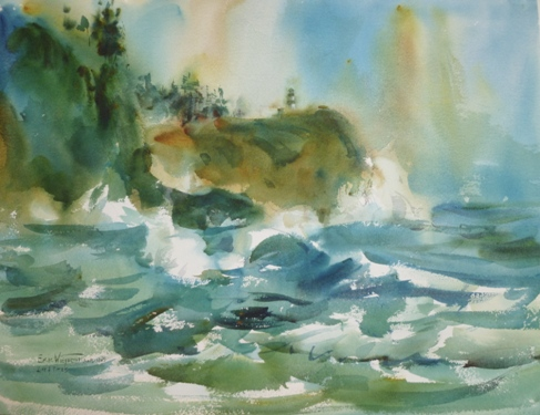 Storm Surf at Cape Disappointment-December