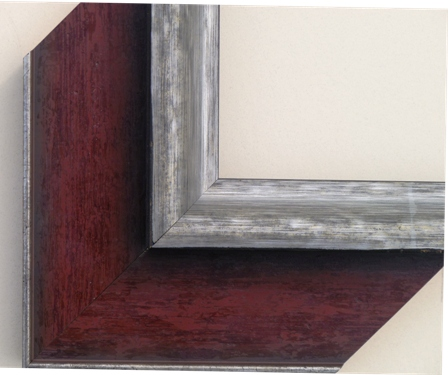 Lucerne Burgundy House Frame 3 1/2 in.