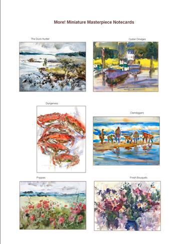 """Miniature Masterpiece"" Notecard Set"