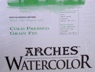 Arches Watercolor Paper Pad