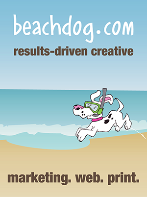 beachdog.com: marketing. web. print.